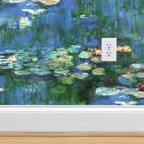 Wallpaper Claude Monet Water Lilies 1916 Large