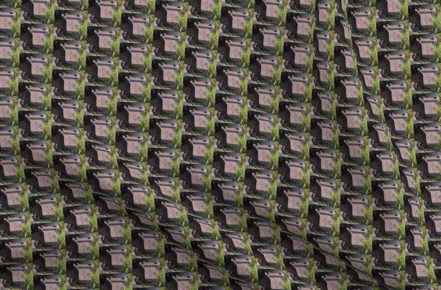 Colorful fabrics digitally printed by Spoonflower - Railroad Ties 2