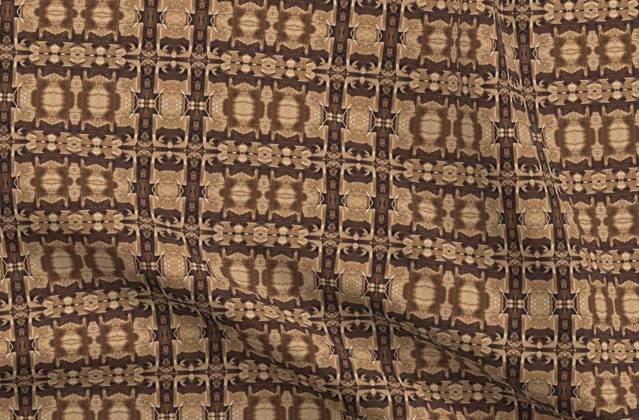 Colorful fabrics digitally printed by Spoonflower - Railroad Ties 24