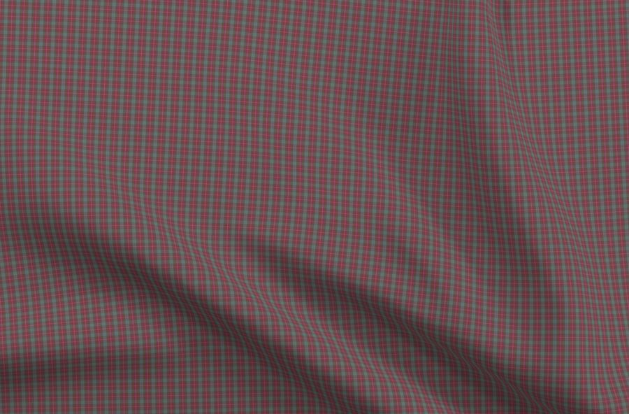 Colorful Fabrics Digitally Printed By Spoonflower 16 Scale Fraser Red Weathered Tartan