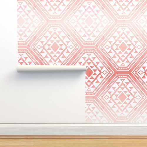 Peel And Stick Removable Woven Wallpaper Spoonflower
