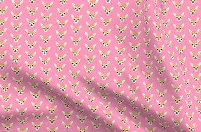 chihuahua cute dog dogs face pet dogs ch - Spoonflower