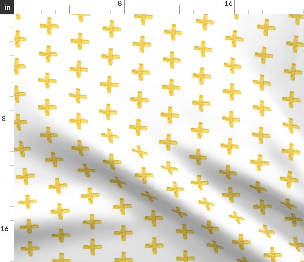 Bamboo Bamboo Trellis Gold Fabric Printed by Spoonflower BTY