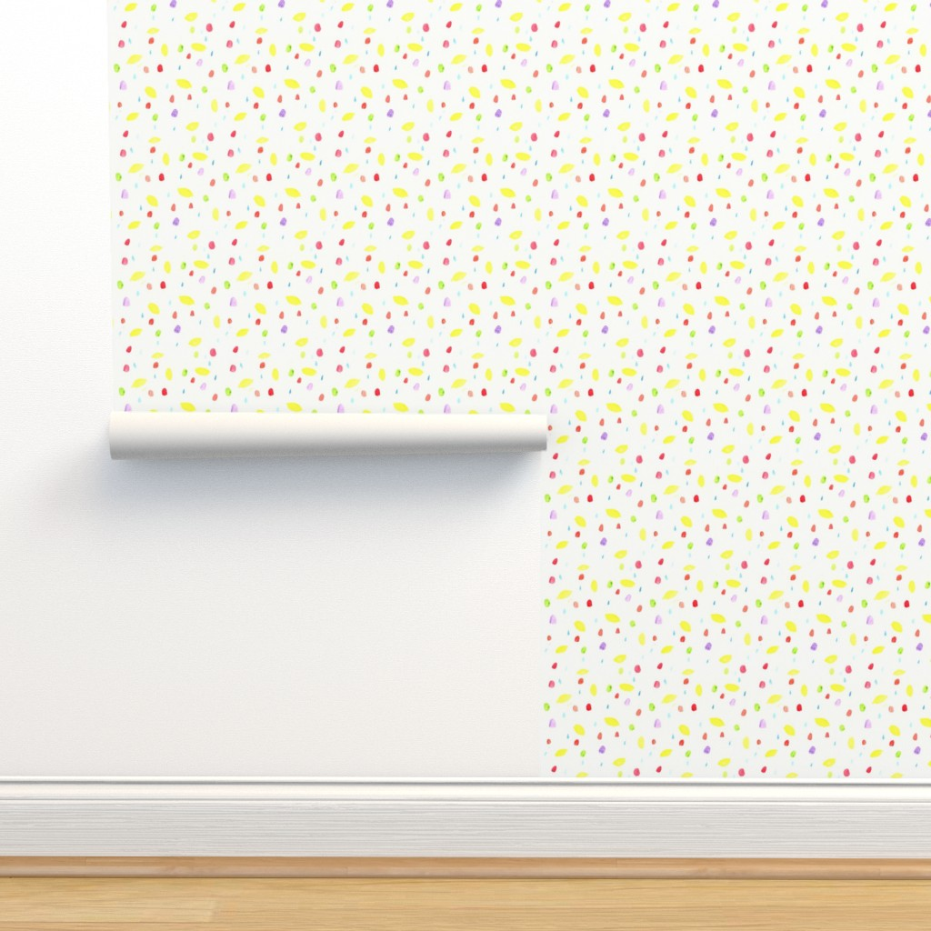 If All the Raindrops Were    - Spoonflower