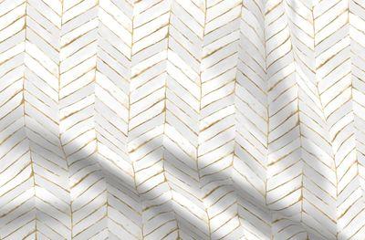 Mod Lemons Mid Century Modern Lemon Yellow Fabric Printed by Spoonflower BTY