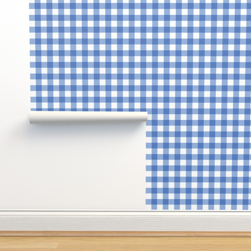 Peel-and-Stick Removable Wallpaper Check Plaid Gingham Picni