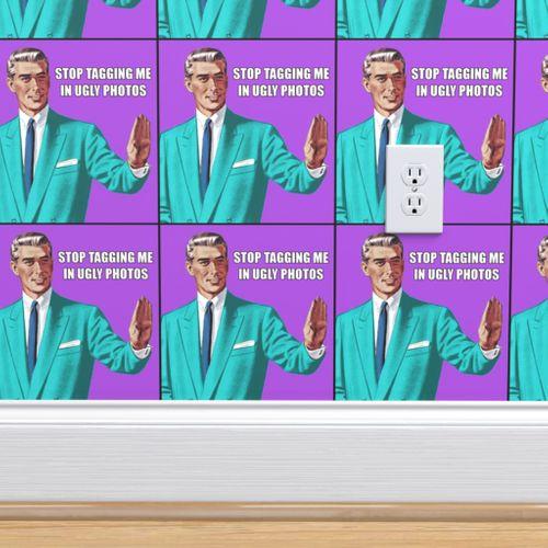 Wallpaper Grammar Correction Guy Man Office Stop Tagging Me In Ugly Photos Pop Art Memes Jokes Humor Funny Internet Social Media Suits Jackets Ties