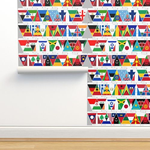 Wallpaper Flags Of The World Egypt To Malaysia
