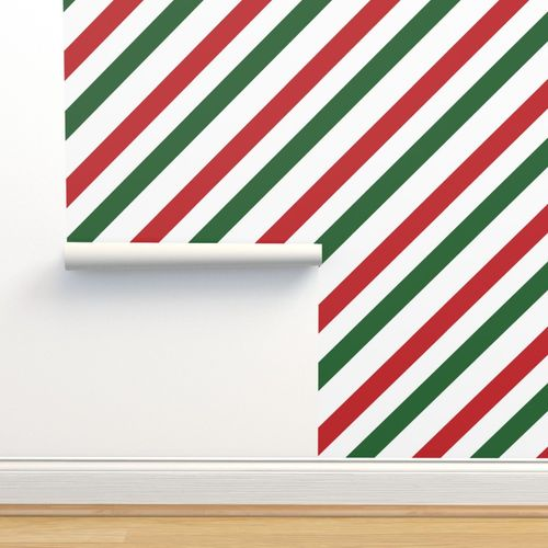 Christmas Candy Cane.Wallpaper Christmas Candy Cane Stripes Red Green Stripe Cute Holiday Stripes 01