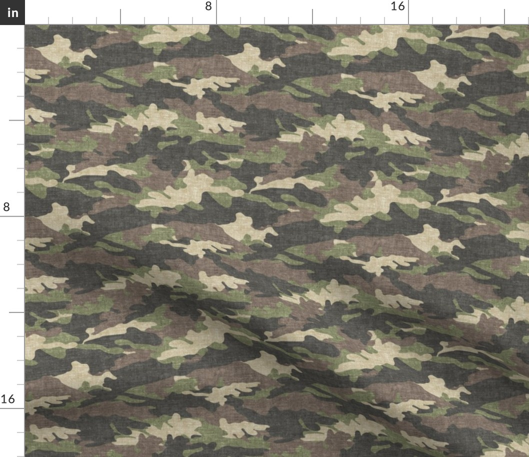 "Camo Fabric Desert Marpat Usmc T Shirt Knit 2-Way Stretch 58/"" Camouflage By Yd"