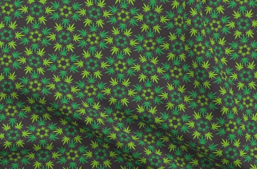 Dream Catcher Weed Green Dark
