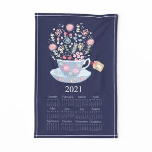 Tea Time 2020 Tea Towel Calendar