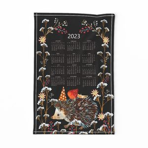 tea towel suni 2020 calendar