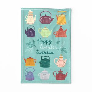 Happy twentea twentea tea towel calendar