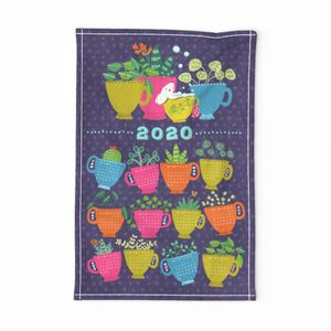 2020 Bubble Tea Towel