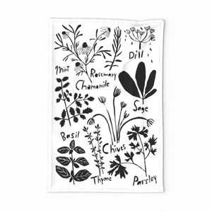 Herb Tea Towel 2020