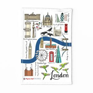 London tea towel