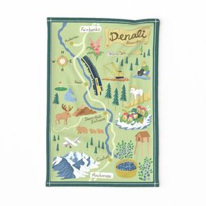 Denali Borough Map