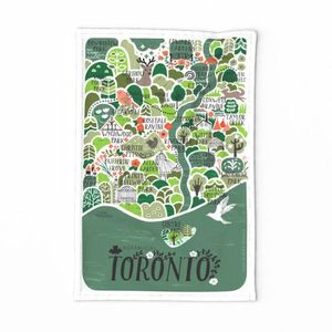 Toronto Botanical Map
