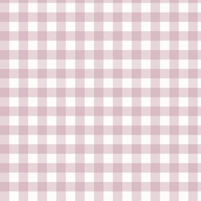 "3/8"" Mulberry Gingham: Small Mulberry Gingham Check, Mulberry Buffalo Plaid"