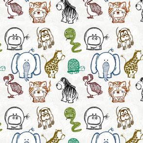 Bubble Jungle Animals 3x3