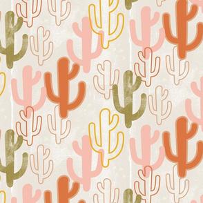 desert cacti earthy