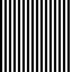 1/4 inch Black Stripe