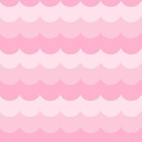 pink scallops