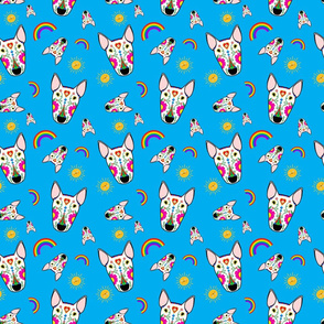 Mexican Bully Rainbow Pattern Tile