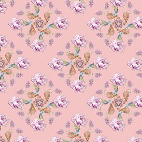 Seasons pattern - Spring Strawberry Cream