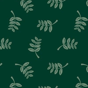 Soft minimal boho style leaves summer garden lush jungle earthy nature nursery forest green apple