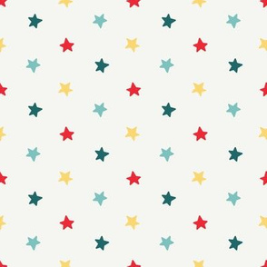 Simple Stars - red