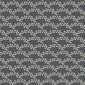 Playful Dots - Grey