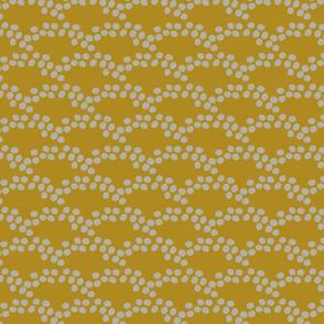 Playful Dots - Mustard