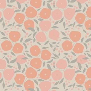 Spring Poseys - Pink