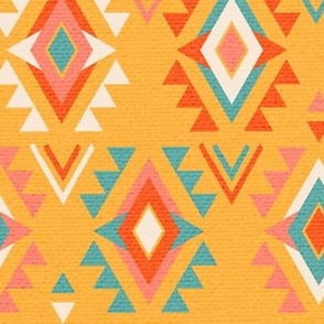 Geometric Southwest Yellow