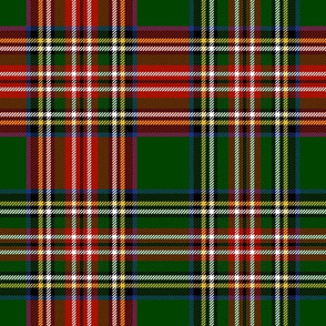 Royal Stewart Dress Tartan Christmas Blend on Jardin