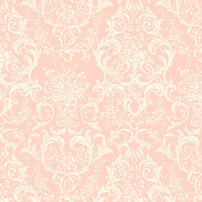 Mauna Damask ~ Cosmic Latte on Lauffer
