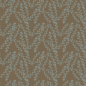 Whispy Branches - brown
