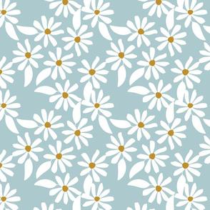 Daisies - blue