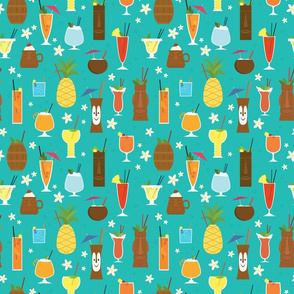 Tiki Drinks (Smaller Scale)