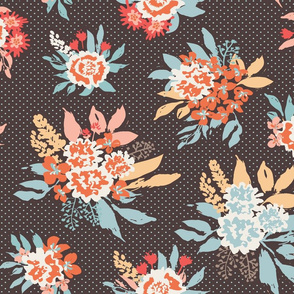 Retro Floral bouquets