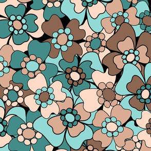 Flower-Doodle_LineArt-Collection_Sub1-BlueBrown