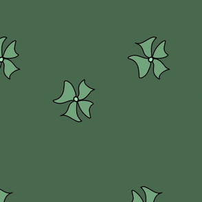 Flower-Doodle_LineArt-Collection_Sub2-Green