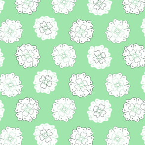 Flower-Doodle_LineArt-Collection_Sub4-Green