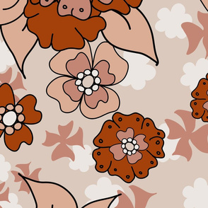 Flower-Doodle_LineArt-Collection_Hero-Orange
