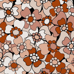 Flower-Doodle_LineArt-Collection_Sub1-Orange