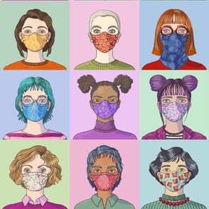 Face Mask Fashion - Large