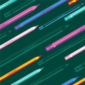 PENCILS_smlss2_colorful_green