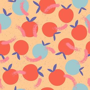 Citrus splatterware Lemon / Blue
